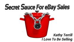 Secret Sauce For eBay Sales