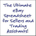 Easy Auctions Tracker - The Ultimate eBay Spreadsheet!
